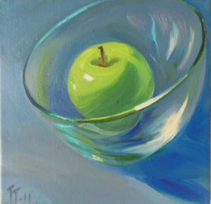 'Green Apple' 12x12