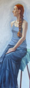 'Woman with Braid' 60x20