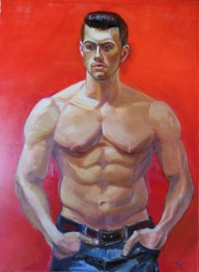 'Young Man' 40x30